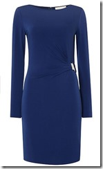 Michael Michael Kors buckle waist dress