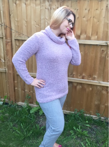 dream1ncolour demart rose winter jumper