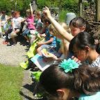 Bezoek aan compostdemo 2de leerjaar