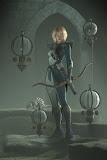 Girl Archer In Armor