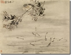 Kao Ch'i-pei. 'Album of paintings, eight leaves,' 1713. ink and color on paper. Walters Art Museum (35.298F): Museum purchase, 2003.