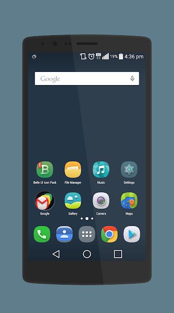 Belle UI Icon Pack screenshots
