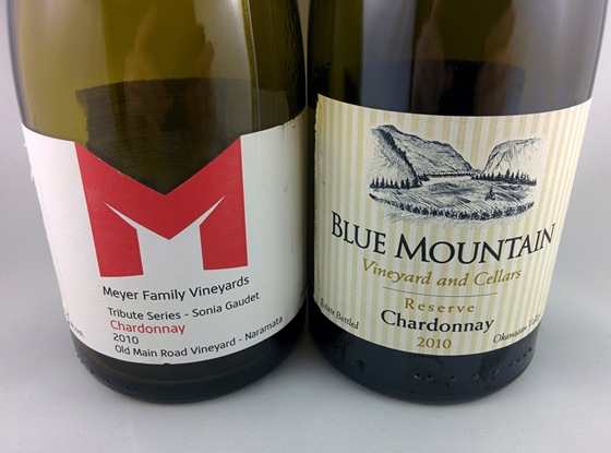 Neighbouring champions from the 2010 vintage