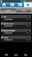 Screenshot of Bell Push-to-talk