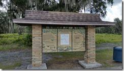 Split Oak Park Trailhead Kiosk