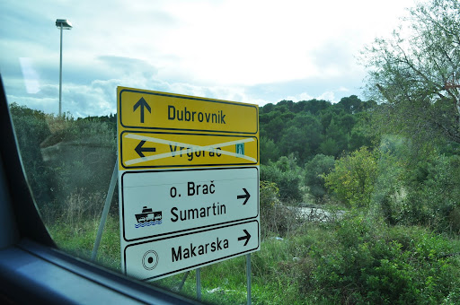 On my way to Dubrovnik
