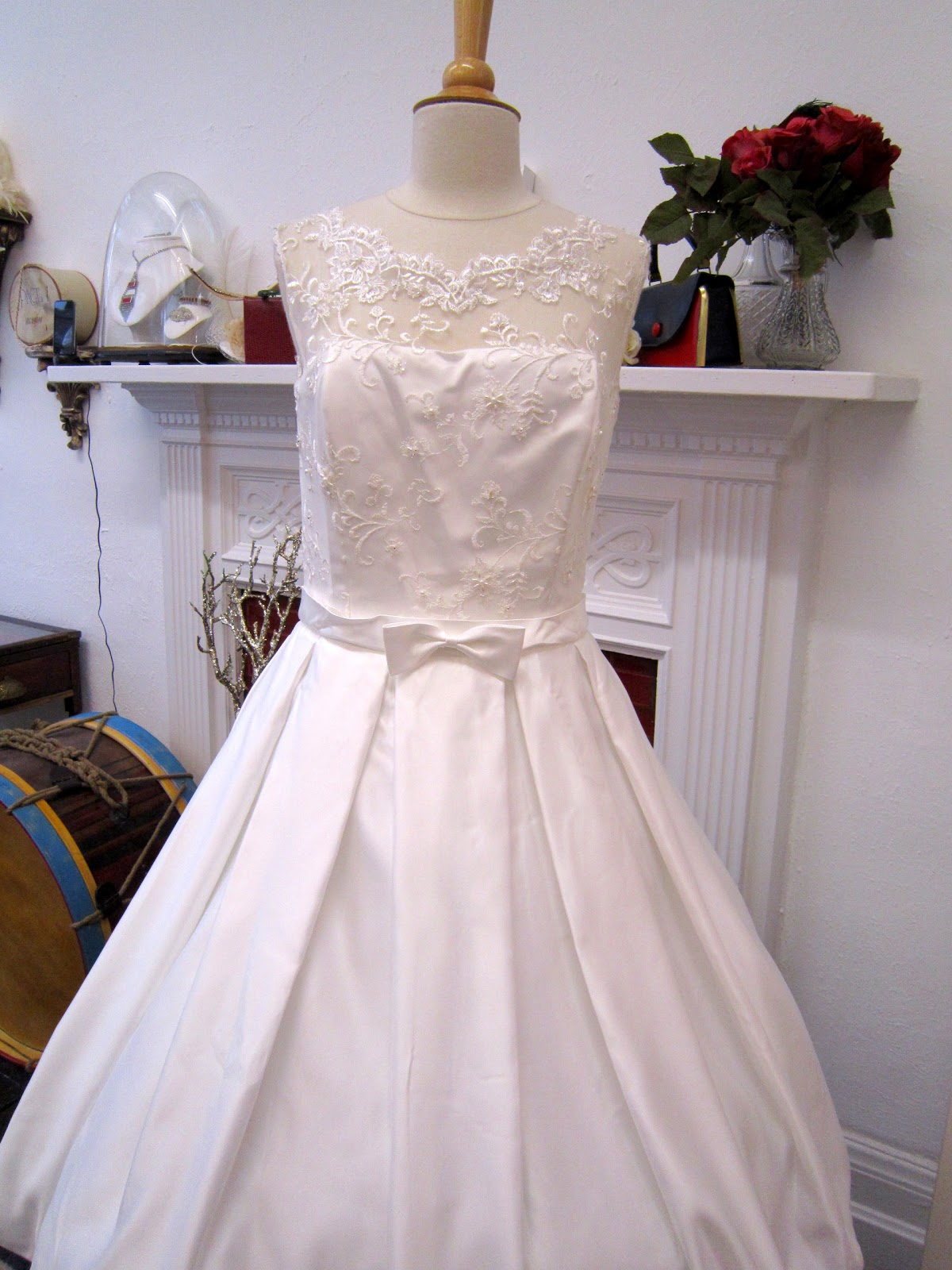 Vintage Style Wedding Prom