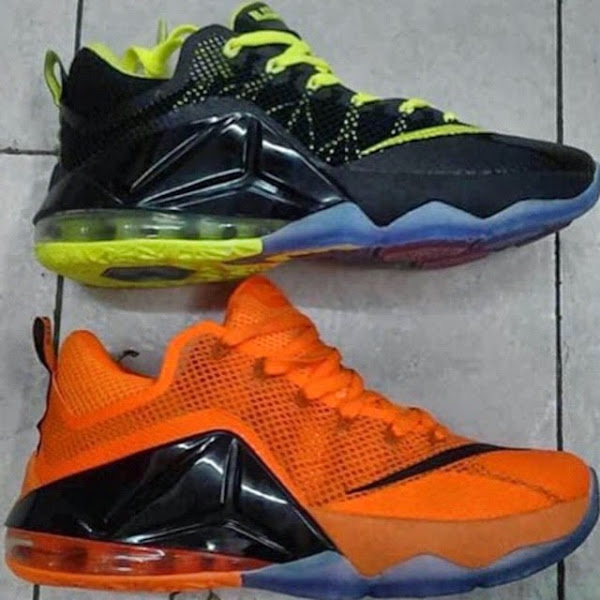 Two LeBron 12 Low 8211 Remix amp Orange 8211 Coming Out in July