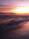 Sunset over the Gulf of Mexico in Destin FL 03232012l