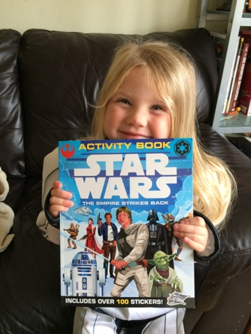 The Empire Strikes Back Activity Book - Maegan Clement