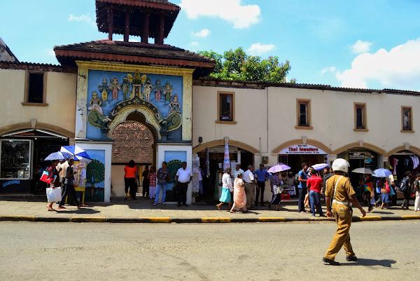 Индуистский храм, Канди, Шри Ланка