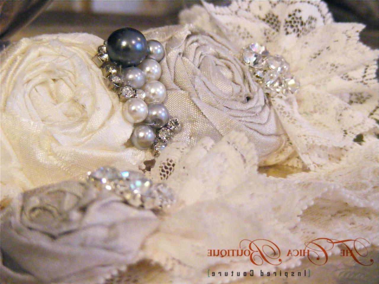 Custom Bridal Garter Sets for