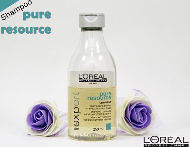 Loreal Profissional Pure Resource Shampoo resenha