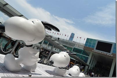 Snoopy Arts and Life @ Harbour City 2014