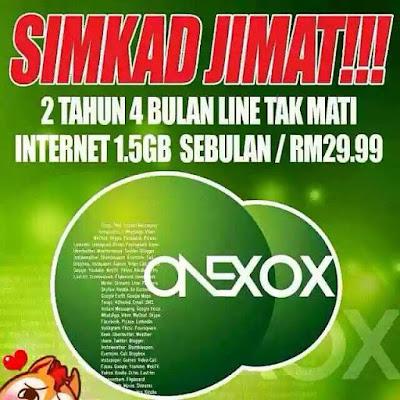 ONEXOX.. SIMKAD JIMAT!!!!,simkad termurah, internet murah
