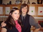 Die Thanksgiving-Kellner: Joseph Hanson-Hirt und Kelly Damewood