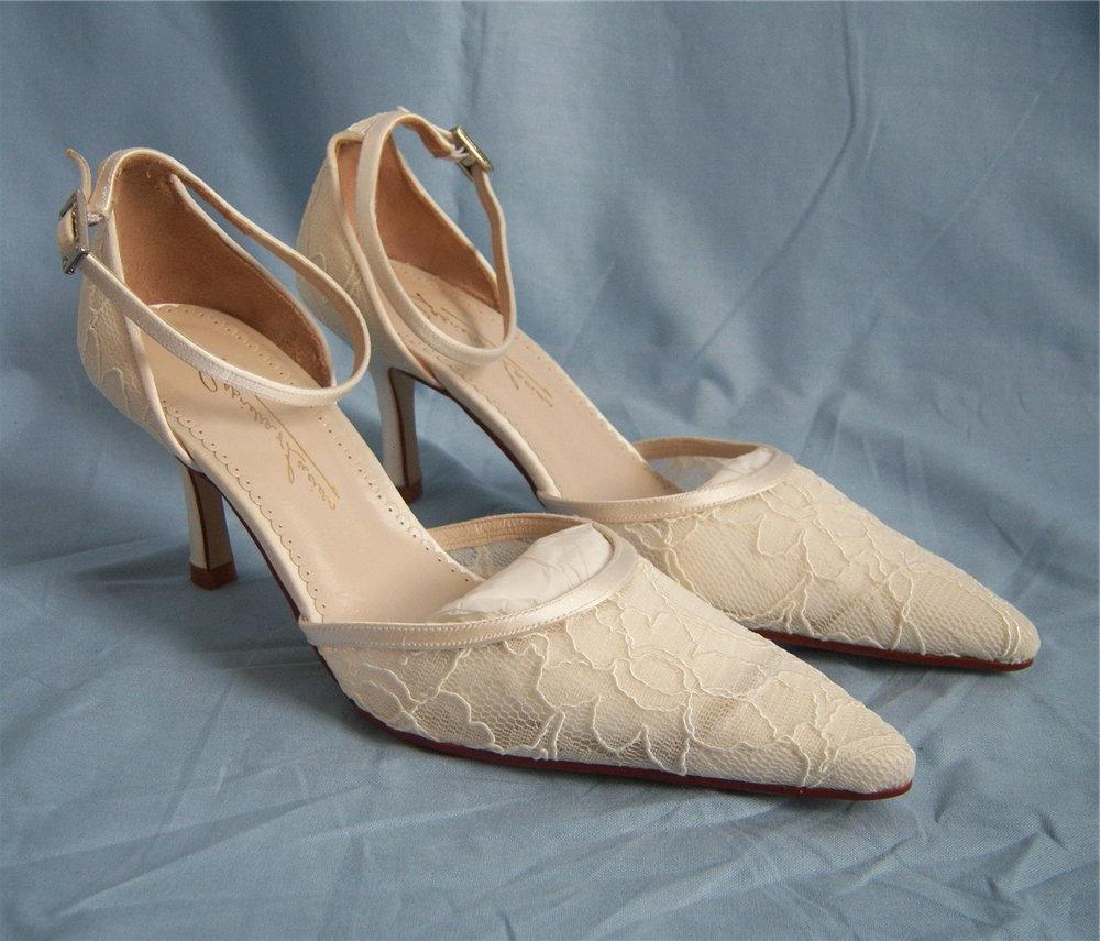 bridal shoes, size 4, BNWT