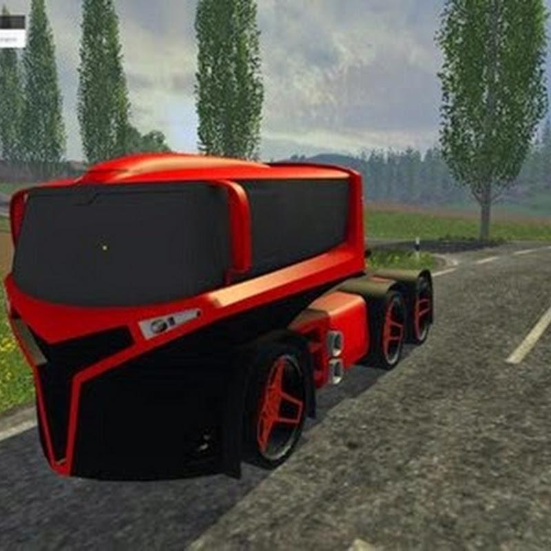 Farming simulator 2015 - Iveco concept Truck v 1.0 initial