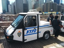 NYPD 3 wheeler cop car