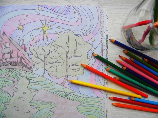 Ive Always Loved Colouring In There Is Something So Soothing About It Mum And I Used To Lie On Our Livingroom Floor Fighting Over Pencils When Was