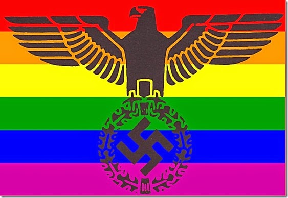 Obama-Gay-Fascist NWO Flag