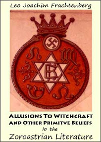 Cover of Leo Joachim Frachtenberg's Book Allusions To Witchcraft And Other Primitve Beliefs in the Zoroastrian Literature