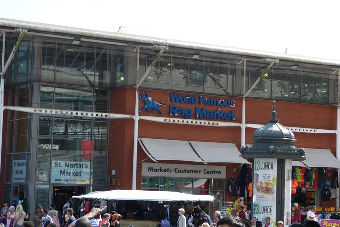 Central market in Birmingham