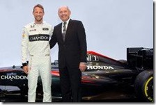 Jenson Button e Ron Dennis