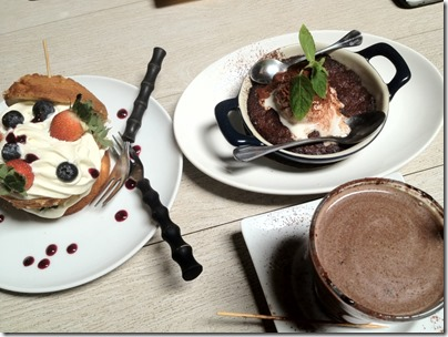 Victoria Sponge Splendor, Cookies Skillet @ Eat at 18, Melaka