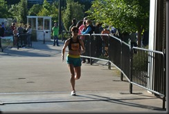 Running through the gate