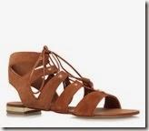 Carvela Comfort tan flat sandal