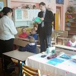 Az iskola egyik magyar osztálya