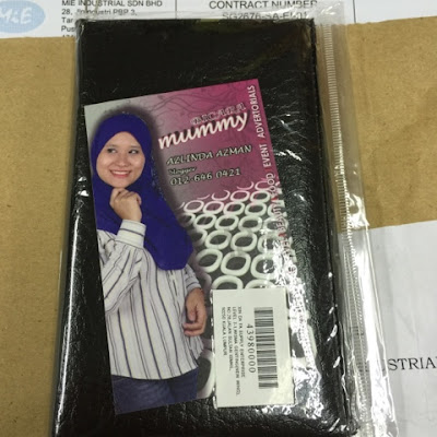 Yahooo, Dapat Hadiah Dari Blogger Mummy Lyn