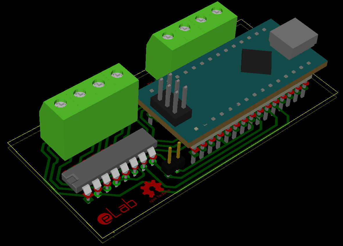 Self Balancing Robot Elab Hackerspace Printed Circuit Board Design And Method The Kicad Work Was Done Next Step Fabrication At We Achived Best Results Using Toner