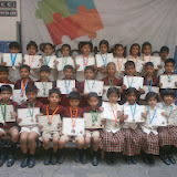 Little kids of MNR Scottsdale Santoshnagar branch