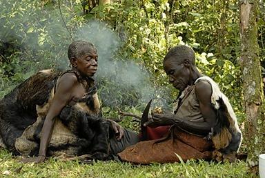Batwa Pygmies Bwindi mgahinga uganda