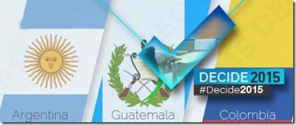 elecciones 2015 - Latinoamerica
