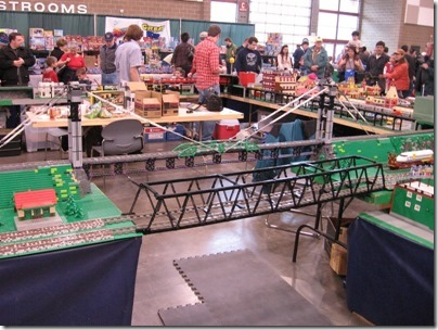 IMG_0821 Puget Sound Lego Train Club Layout at the WGH Show in Puyallup, Washington on November 21, 2009