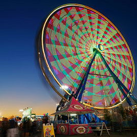 Tulsa State Fair by Jerry Ehlers - City,  Street & Park  Amusement Parks ( ride, tulsa, amusement park, oklahoma, state fair,  )