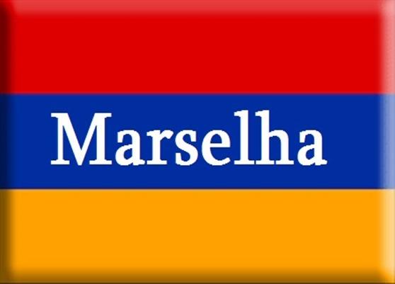 Bandièra d'Armènia Marselha
