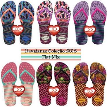 Flat mix havaianas