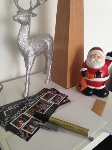 christmas cards planning