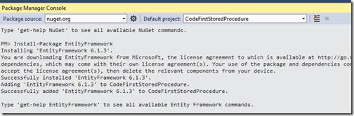 nuget-package-entity-framework-code-first