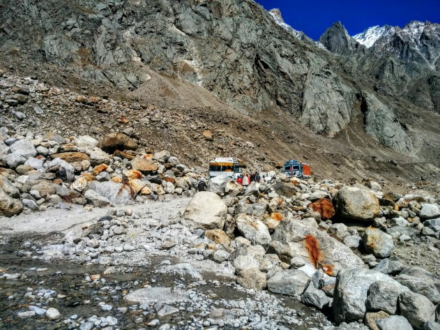 Traveling on Lahaul and Spiti roads of Himachal is in itself an adventure