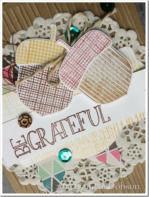 Be grateful close by Daniela Dobson