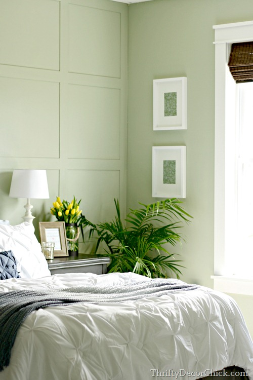 softened green Sherwin-Williams