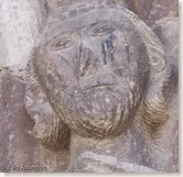 Iglesia de San Román de Cirauqui - Posible cabeza de Cristo