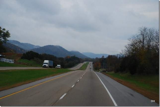 Travel from Kingsport to Cumberland I26-US11W-US25E (59)