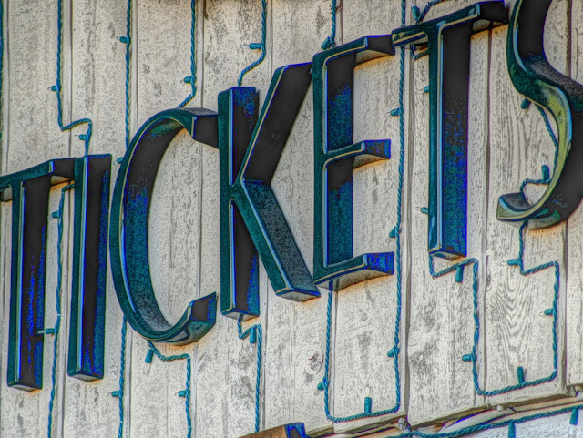 Free Picture of tickets sign