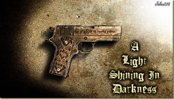 light shining in darkness